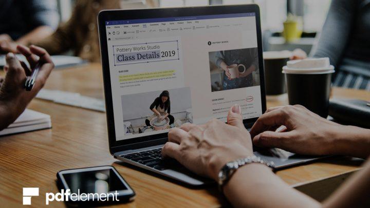 PDFelement 7 – Einfaches Bearbeiten von PDF Dokumenten
